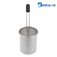 Cylindrical Stainless Steel Pasta Basket - BTW60S69-304