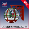 (LW30033B-RG11) Christmas Tree Santa Claus Decoration Wall Lamp with Music