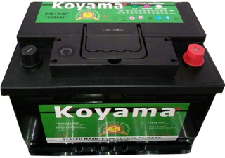 DIN Maintenance Free Auto Battery