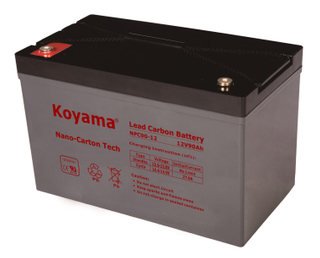 12V 90AH High Quality Deep Cycle Lead Carbon Battery NPC90-12