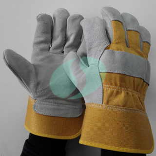 CB302 leather palm rigger gloves