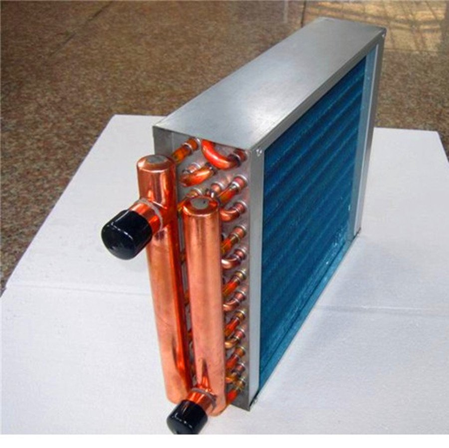 100k Btu Hot Water To Air Heat Exchanger Coil For Outdoor
