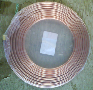 Pancake Coil Copper Tubes For Air conditioning