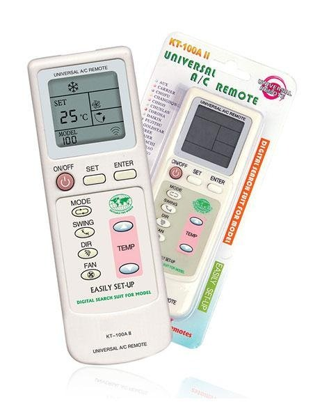 KT-100AII Universal Air conditioning Remote Control