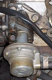 Mechanical fuel pump, fitted to cylinder head.jpg