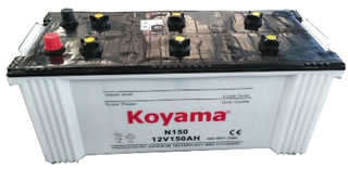 JIS Dry Charged Auto Battery
