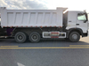 Sinotruk A7 6X4 Dump Truck with Middle Tipping