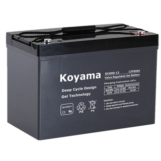 12V90AH Deep Cycle Gel Battery DCG90-12 group 27