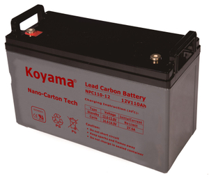 12V 110AH High Quality Deep Cycle Lead Carbon Battery NPC110-12