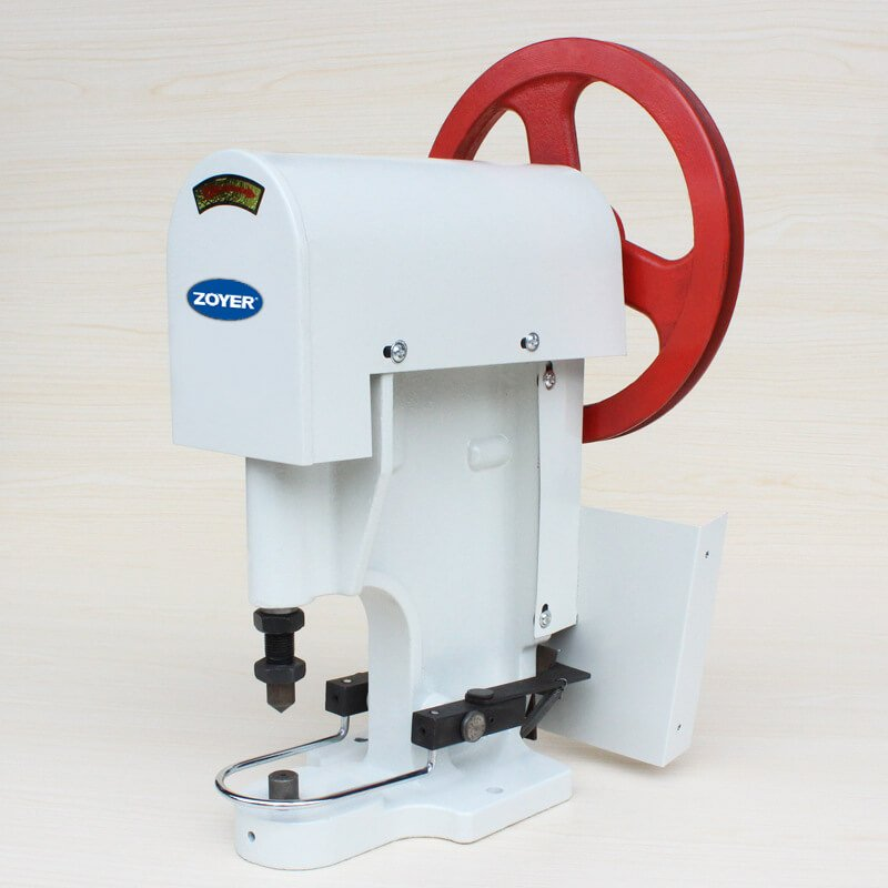 ZY808 zoyer Snap button attaching machine with belt drive