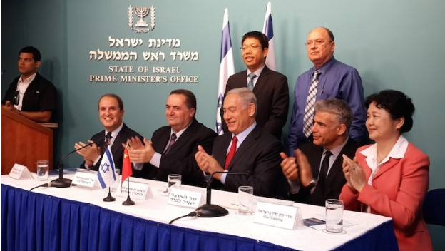 China, Israel sign $300 million agtech agreement