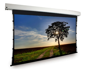 Best cheap large size projector screen 350 inch 4:3 Electric Projection Screen Customizable Mental bead Fabric for sale