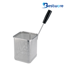Single Handle SS Pasta Basket (Square) - BTW60D444