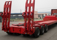 SINOTRUK 3 Lines & 6 Axles Lowbed Semi Trailer