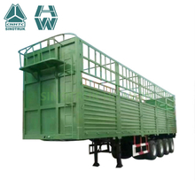 SINOTRUK 40ft 3 Axle Storehouse Semi Trailer for sale