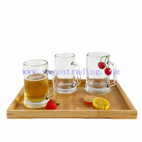 different size heavy-duty water/ juice/milk/beer glass cups