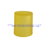 300ml yellow glass candle holder