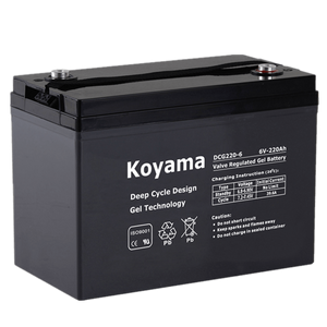 6V220AH Deep Cycle Gel Battery DCG220-6