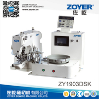 ZY1903DSK zoyer direct drive button attaching sewing machine with automatic button feeding device