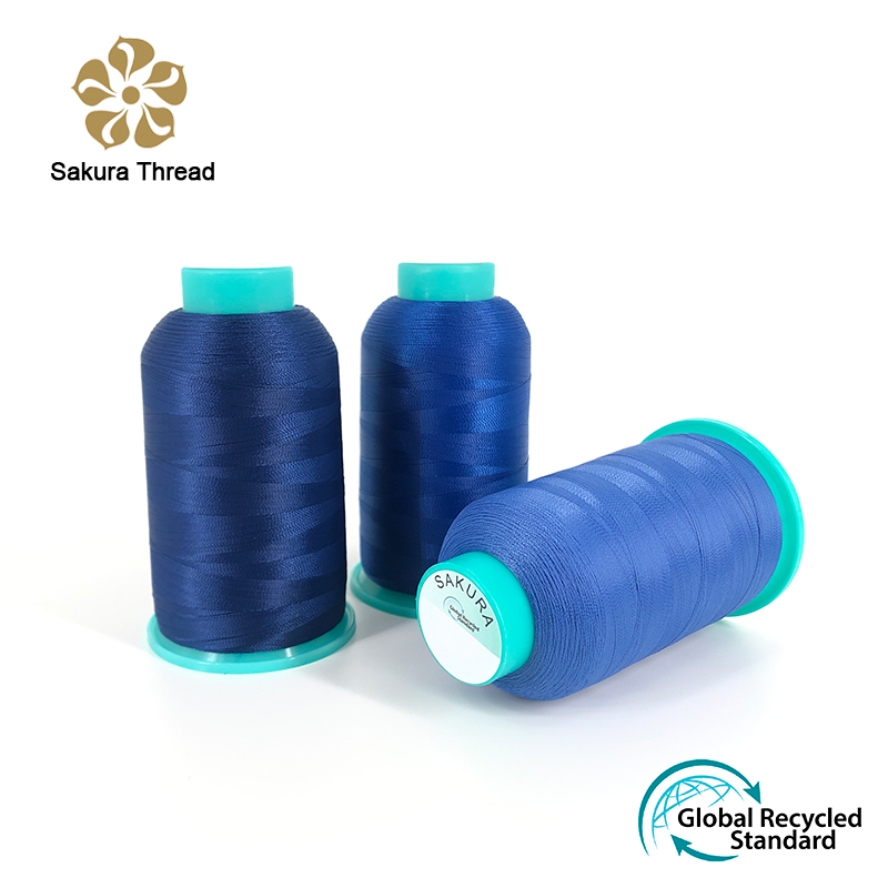 100% Polyester Recycled Sewing Thread