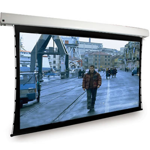200Inch 4:3 Large Projector Electric Projection Screen With Remote Control