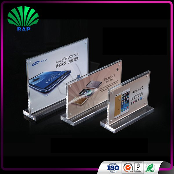 Excellent Hot Sale Buffet Card Holder Acrylic Name Tag Table Reserved Tags  KT51