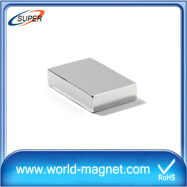 Heavy thick small block neodymium magnet for sale