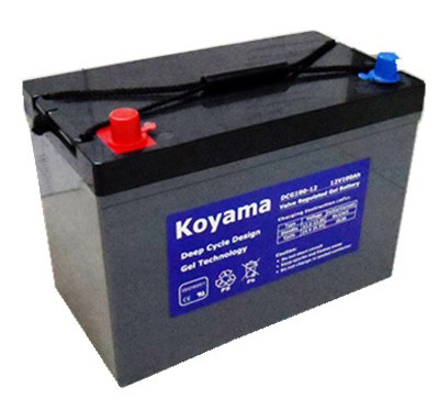 Golf, Utility Vehicle And NEV Gel Deep-Cycle Battery