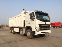 SINOTRUK A7 8X4 Dump Truck with Front Tipping for sale