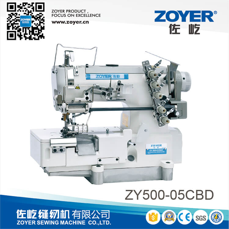 ZY500-05CBD Zoyer direct drive stretch sewing machine (with knife)