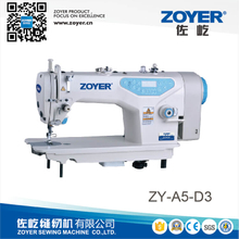 ZY-A5-D3 zoyer speaking direct drive auto trimmer high speed lockstitch industrial sewing machine