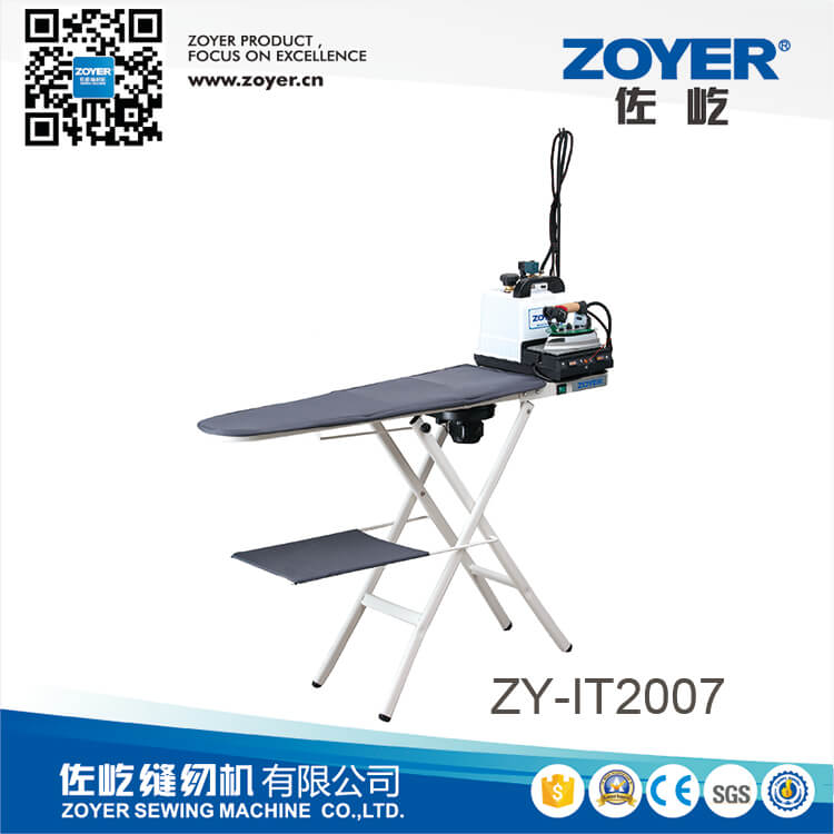 ZY-IT2007 Turbo Vacuum And Heated Folding Ironing Table