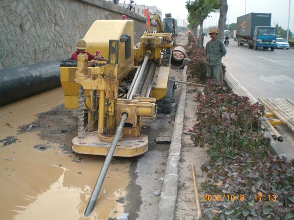 Trenchless directional drilling construction process-3