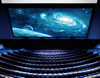Large Electric Projector Screen/Ultra-large Motorized Projection Screens /High Quality Large Stage Electric Screen