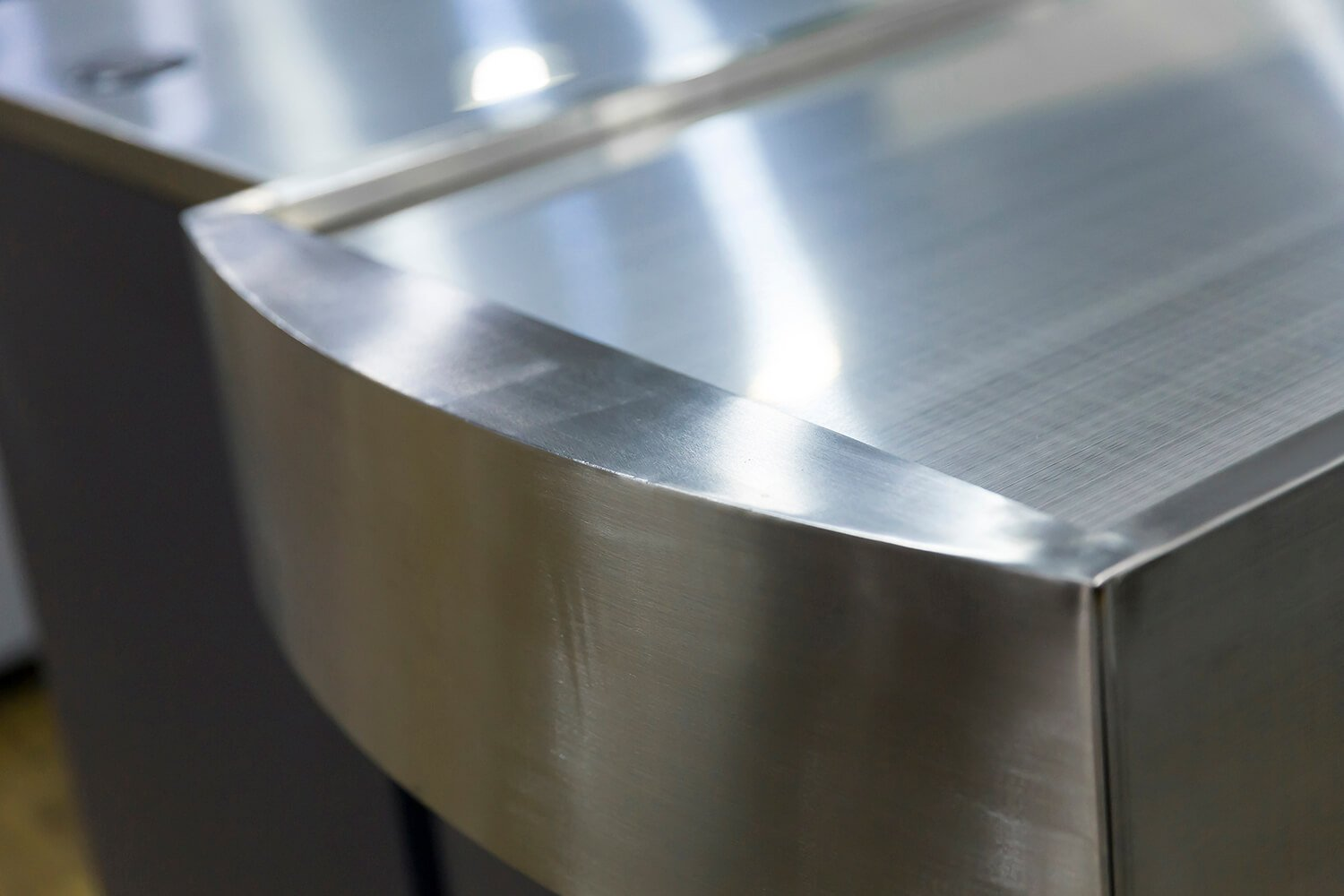 Stainless Steel Checkout Counter