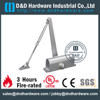Automatic Fire Rated Door Closer Adjustment 60Kg in Aluminum for Metal Door -DDDC006