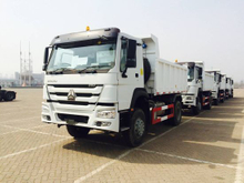 Sinotruck HOWO 4X2 Middle Tipping Dump Truck for sale