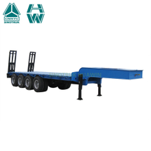 Sinotruk 4 Axles Lowbed Semi Trailer