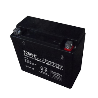 Ytx20L-BS-Mf Sealed Maintenance Free Battery 12V SMF Powersport Motorcycles Scooters Atvs