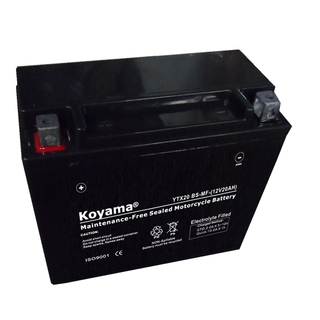 YTX20-BS-MF Sealed Maintenance Free Battery 12V SMF Powersport Motorcycles Scooters ATVs