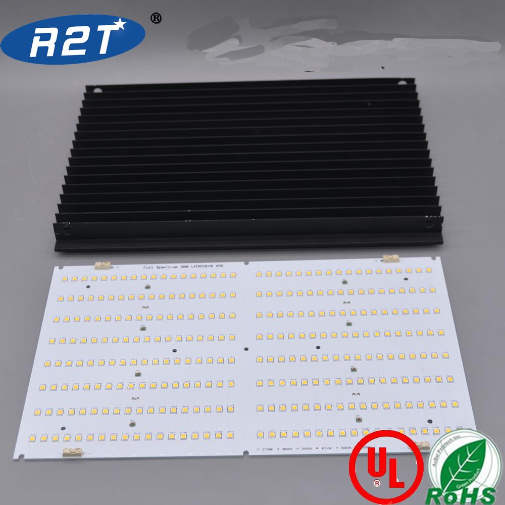 288 Samsung LM561C Top Bin Quantum Board LED Grow light combo kit