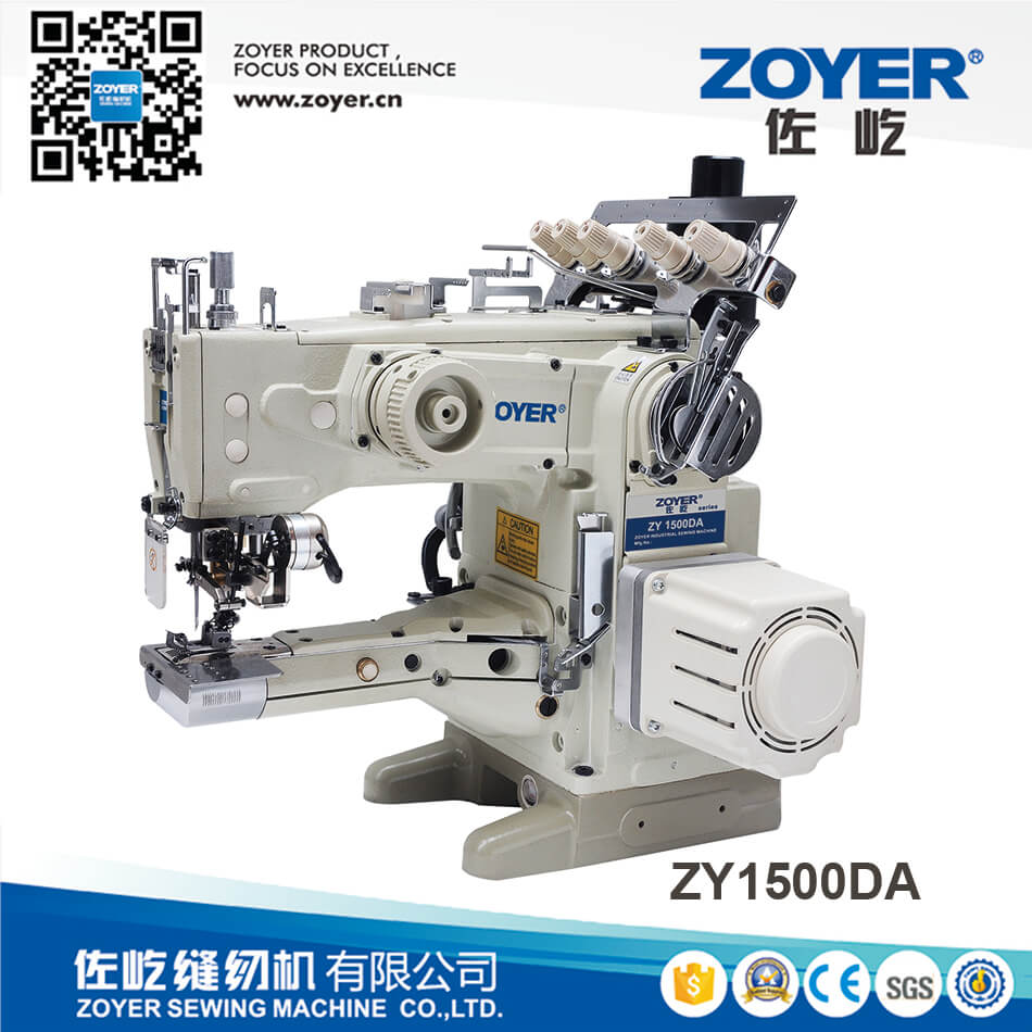 ZY1500DA Zoyer Direct Feed-on Type Cylinder Bed Interlock Sewing Machine with Auto Trimmer