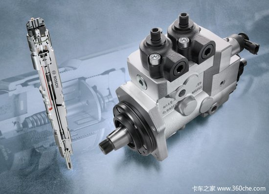 Diesel engine high pressure common rail injection system