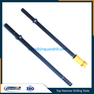 R22 threaded drill rod Hex22mm hexagonal shank end rod