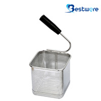 Single Handle SS Pasta Basket (Square) - BTW60U111