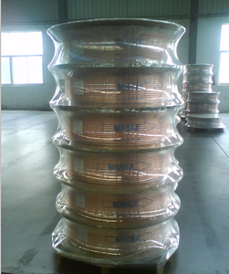 Refrigeration And Air conditioning Broad Copper Coil Tubes
