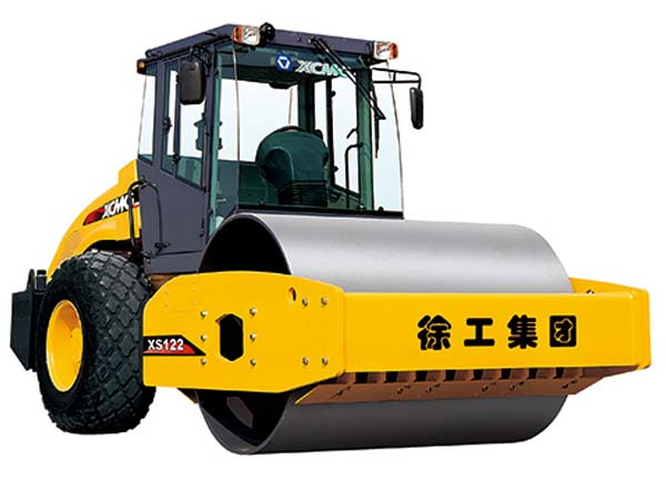 XCMG XS122 Single Drum Vibratory road roller machine
