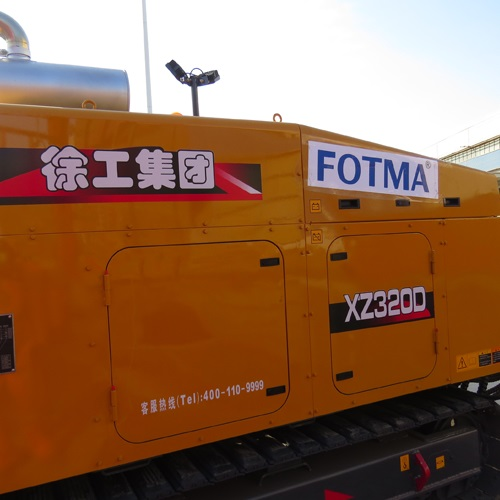 FOTMA exported an XCMG XZ320D horizontal directional drill rig