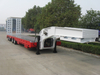 3 Axles 4 Axles Telescoping Lowbed Semi Trailer for Australia