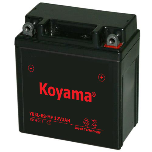 Yb3l-BS-Mf Sealed Maintenance Free Battery 12V 3ah Powersport Motorcycle Scooter ATV